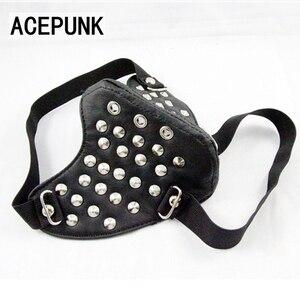 Image 5 - Классная мужская маска для косплея в стиле хип хоп, цвет черный