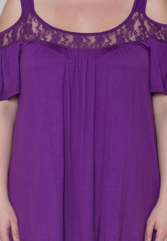HTB1XsLXKFXXXXX1XXXXxh4dFXXXA - Off Shoulder Summer Tops Short Sleeve Lace Patchwork Loose