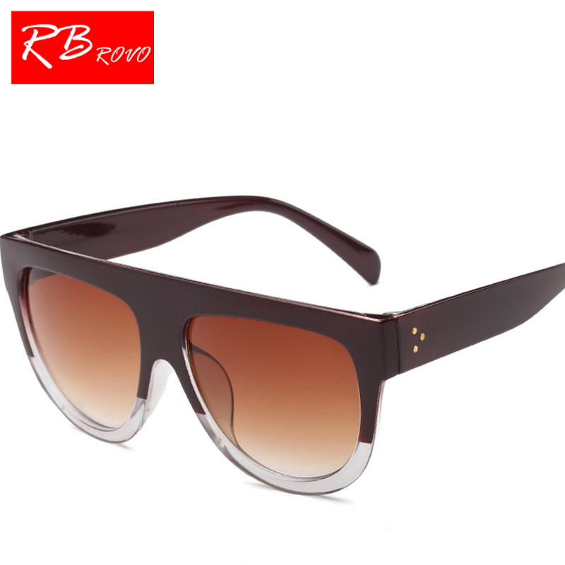 1fd33386a2b RBROVO 2018 Leopard Sunglasses Women Men Candy Lens Big Frame Lady Sun  Glasses Classic Retro Outdoor Lunette De Soleil Femme-in Sunglasses from  Apparel ...