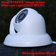 Sony STARVIS CMOS sensor IMX291 ultra low light security camera 1080P waterproof home security IR dome CCTV Camera