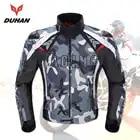 DUHAN Camouflage veste de Moto homme Oxford Motocross veste de course tout terrain avec 5 protecteurs Moto gardes veste de Moto