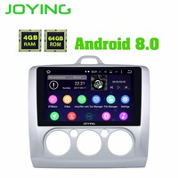 JOYING Android 8.0 2 Din Stereo GPS System Car Radio For Ford/Focus 2005 2012 Octa Core 9 inch head unit Autoradio Video output