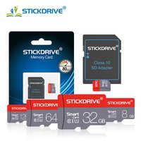 Carte mémoire Micro SD haute qualité 64GB 32GB carte Microsd TF 4GB 8GB 16GB 128GB lecteur de stylo classe 10 cartes Flash cartao de mémoire