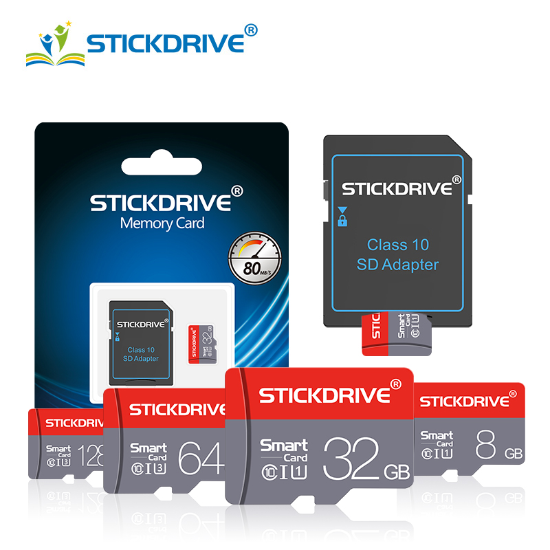 High Quality Micro SD Memory Card 64GB 32GB Microsd TF Card 4GB 8GB 16GB 128GB Pen drive Class 10 cartao de memoria Flash cards