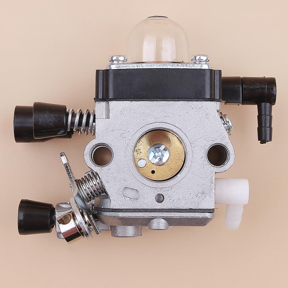 <font><b>Carburetor</b></font> <font><b>For</b></font> <font><b>STIHL</b></font> <font><b>FS38</b></font> <font><b>FS45</b></font> FS46 FS55 FC55 FS74 FS75 FS76 FS80 FS85 TRIMMER STRIMMER REPLACEMENT image