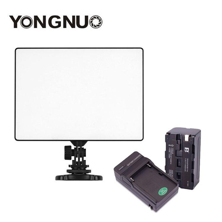 YONGNUO YN300 Air 3200k 5500k YN 300 air Pro LED Camera Video Light with NP F750
