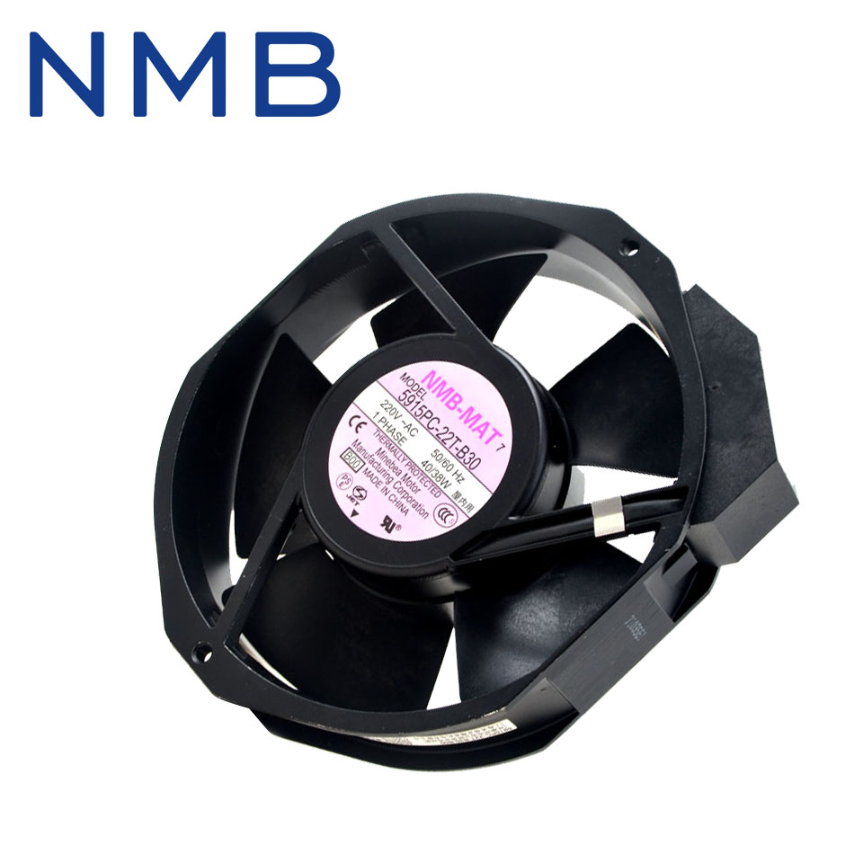 Free shipping Original 5915PC-22T-B30 Computer Blower Cooling Fan 50/60HZ  3200RPM AC 220V 40/38W 17238 172*150*38mm free shipping original delta cooling fan nfb10512hf 7f03 49 87y01g001 12v 0 39a 3 wires projector 5pcs lot