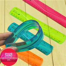 Soft ruler scale stationery primary school students in the prize gift flexible