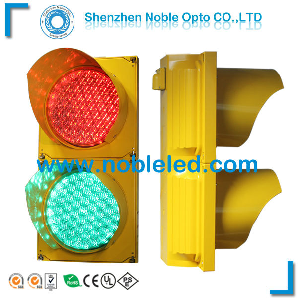 2 warranty red and green led traffic lights 8inch in traffic light