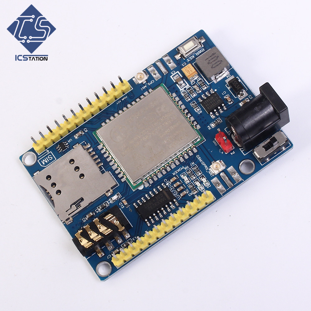 A7 GSM GPRS GPS Module 3 In 1 Module Shield DC 5-9V For Arduino STM32 51MCU Wireless Module fast free ship 2pcs 3g module sim5320e module development board gsm gprs gps message data 3g network for arduino 5v 3 3v scm mcu