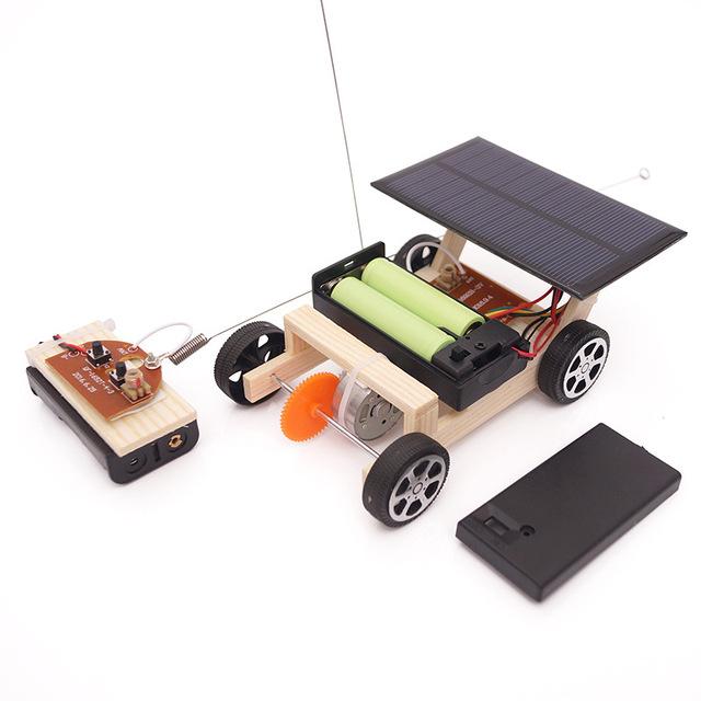 DIY STEM Toys for Children Physical Scientific Experiment Creativity Learning Educational Toy Kit DIY Solar Car Birthday Gift
