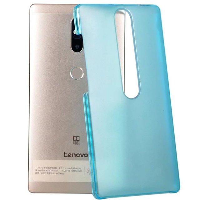 wholesale dealer 09a63 38364 US $8.88  Enzi Luxury Crystal Transparent Clear PC Plastic Back Case Cover  For Lenovo Phab2 Plus Phab 2 Plus PB2 670 PB2 670N 6.4