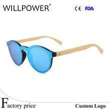 Gafas de Sol de marca gafas de sol de La Vendimia De Madera De Bambú de madera de la playa gafas de Sol de Conducción gafas de sol