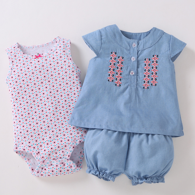 3b191a781eae 2019 Promotion New Arrival O-neck Novelty Baby Girls Boys And Girls Summer  Clothing Style