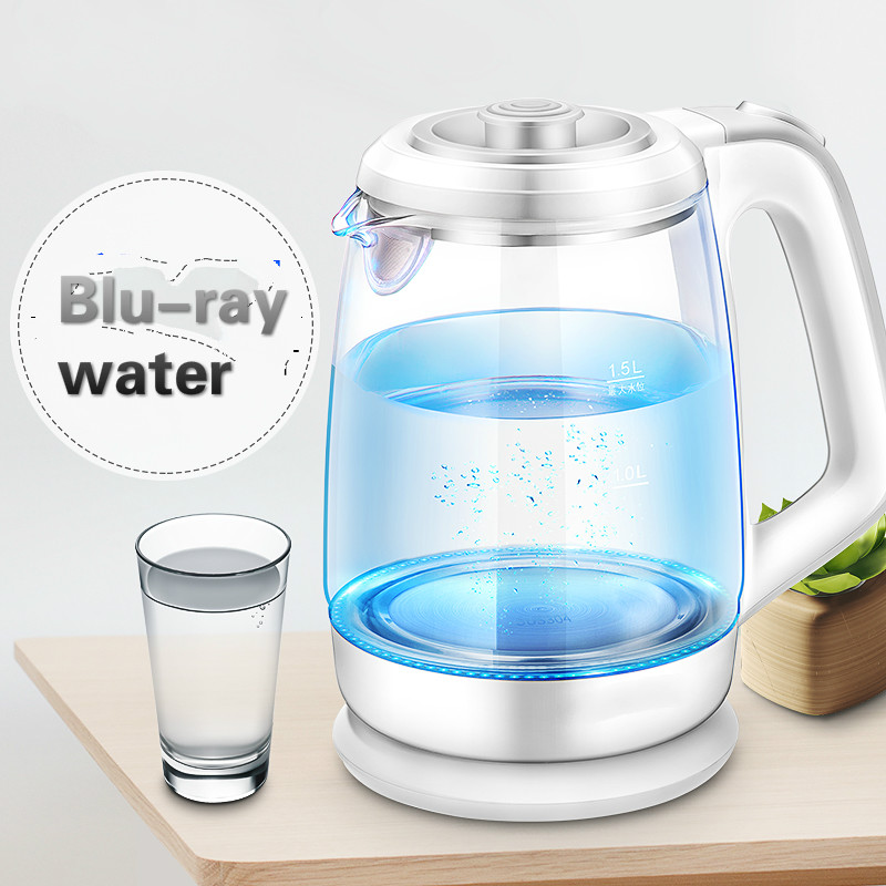 Electric kettle Home upset glass boiled Automatic power offElectric kettle Home upset glass boiled Automatic power off