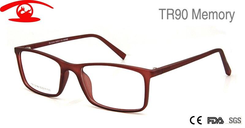 new prescription glasses tr90 flexible memory glasses for women men unisex square frame factory direct eyeglasses