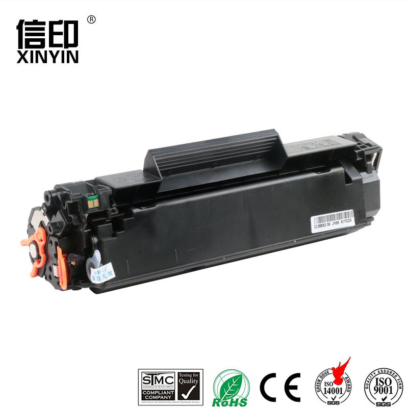 Black 1 Pack Easy to Install Prints 2000 Pages HBOY CC388X Toner Cartridge Compatible for HP M1136 P1108 P1106 M1216nfh M128fn M226dn Laser Printer