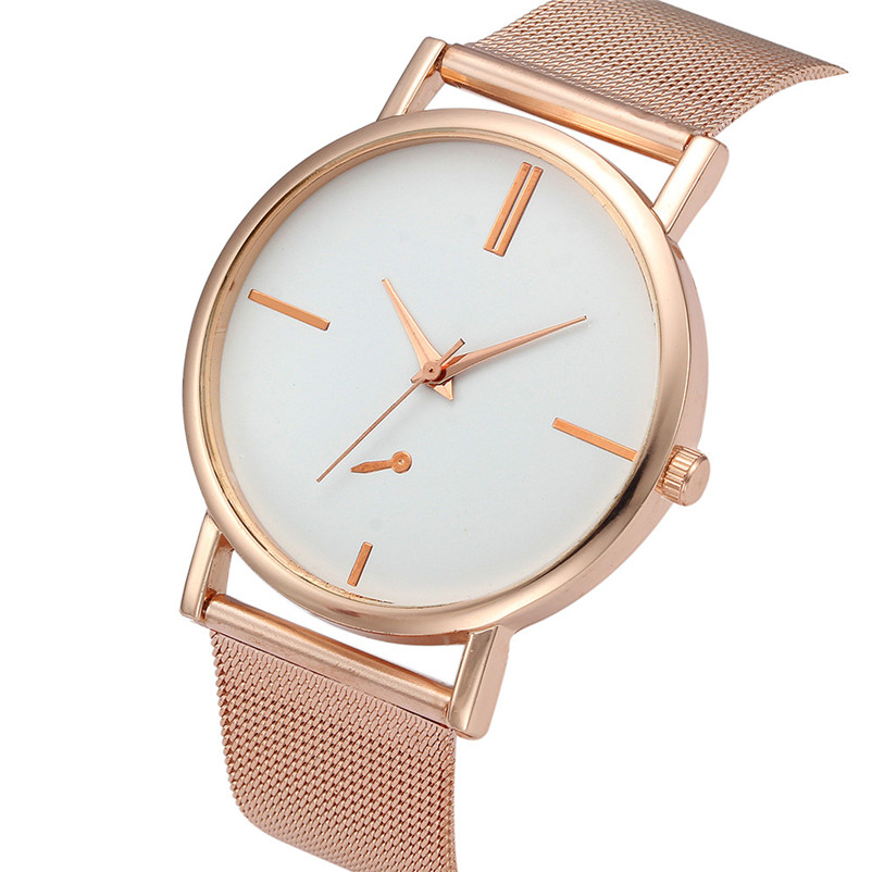 Women Watches Fashion Classic Gold Quartz Stainless Steel Silver Wrist Watch Ladies Dress Watch bayan saat Relogio Feminino cartoon gold horse print blue leather strap sports ladies quartz watch relojes hombre 2017 bayan saat women watches hodinky b133