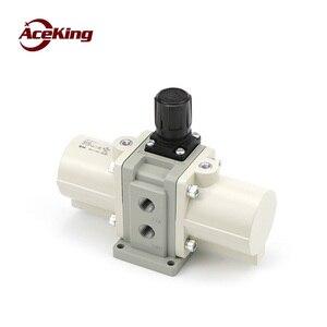 Pneumatic pressurized valve vba10a-02 pneumatic pressurized vba20a-03 gas air booster pump vba40a-04 gas tank double pressurized(China)