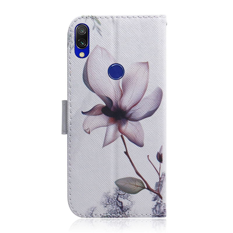 PU Leather Wallet Cover Case For Xiaomi Redmi 7 Coque Flip Soft Silicone SmartPhone Bag For Xiomi Redmi Note 7 Funda Case Capa in Flip Cases from Cellphones Telecommunications