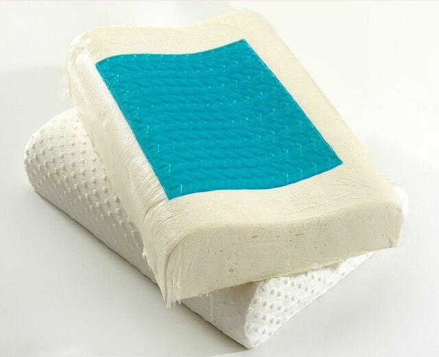 Memory Foam Kussen : Langzaam herstel latex deeltjes heide zorg gel memory foam kussen