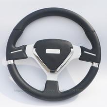 Free Shipping 350mm PVC TYPER Karting/Racing/Involving Car Steering Wheel