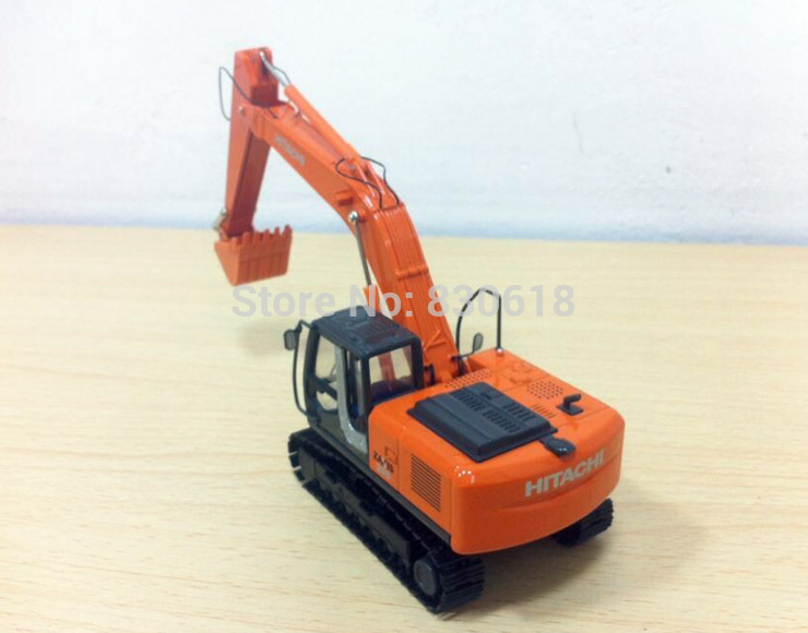 New ! Hitachi 1:50 Hitachi Zaxis ZH200 Excavator w/ Metal Tracks Construction vehicles