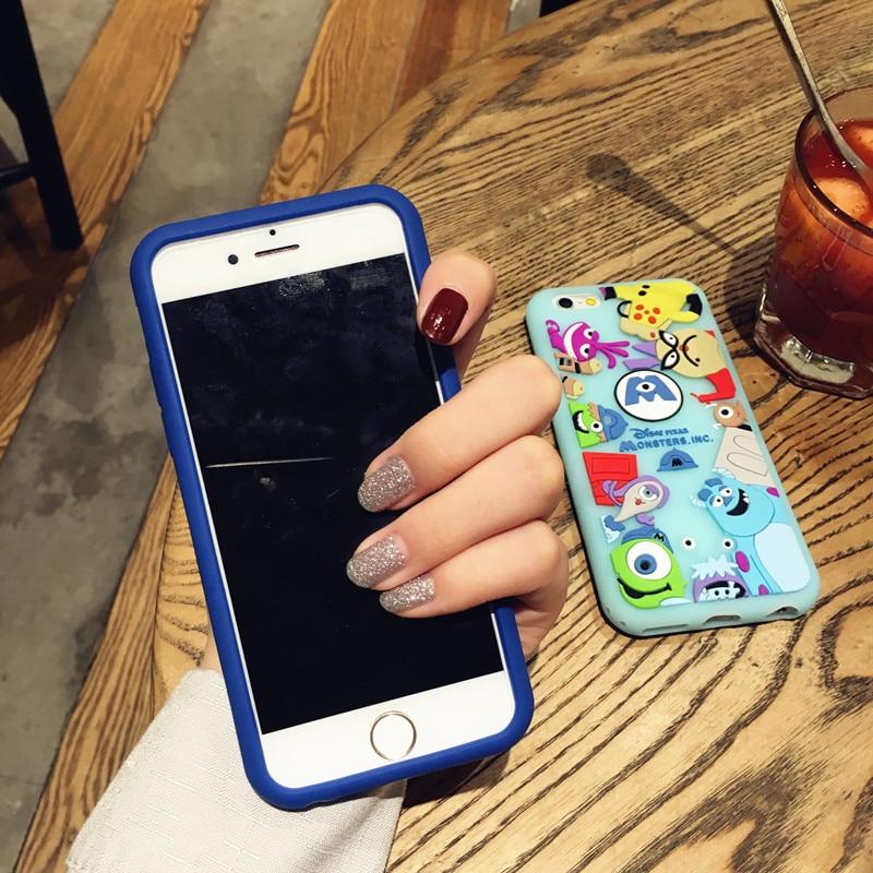 HTB1XsQDRFXXXXc.XFXXq6xXFXXXi - Ariana Grande Monster university Phone Case for iPhone7 7plus all-inclusive protective sleeve halter rope 6plus lovely soft silicone women PTC 219