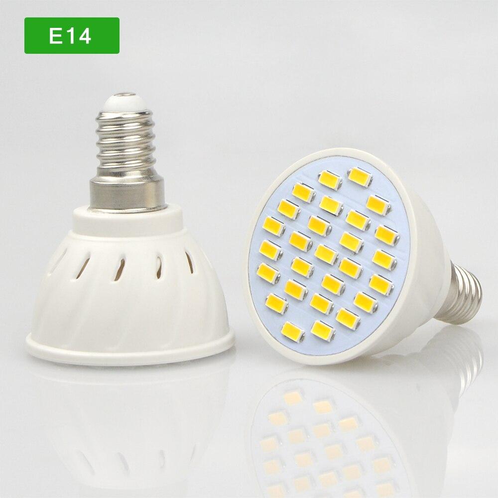 10Pcs/lots E27 E14 GU10 MR16 GU5.3 LED lamp Spotlight 7W 220V High ...