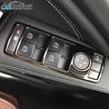 Carmonsons Puerta Interruptor Del Elevalunas Ajuste de la Cubierta de Pegatinas para Mercedes Benz B C E GLK ML GLA W176 W246 CLA Clase W204 W212 W218