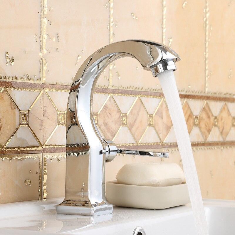 Einzigen Kalten Bad Wasserhahn Robinet Salle De Bain Bad Wasserhähne Torneira Einzel Chrom Torneira Banheiro Athroom Armaturen