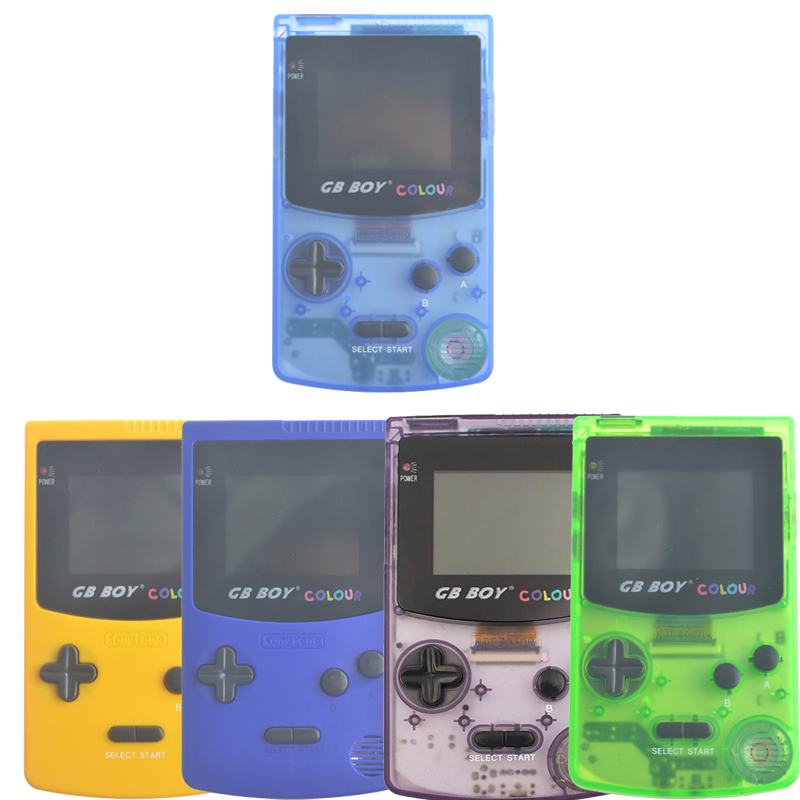 Kong Feng GB Boy Classic Color Colour Handheld Game Consoles 2.7'' Pocket Game Player With Backlit 66 built-in Games Mando game boy картридж diskus