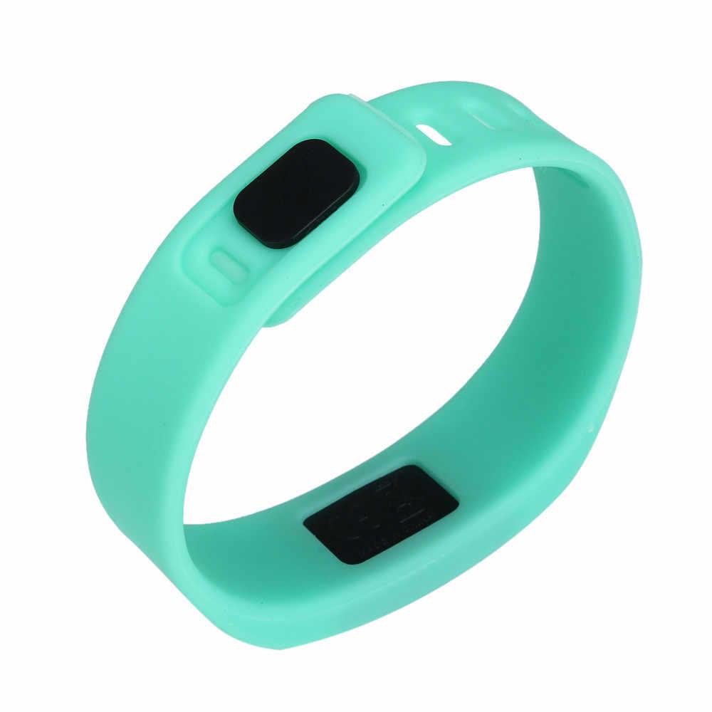Women Men LED Sports Running Watch Date Rubber Bracelet Digital Wrist Watch Женские часы Reloj de dama Wd3