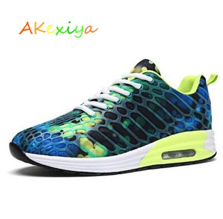 Akexiya new Camouflage Man Outdoor Shoes Running Shoes For Men Super Sport Outdoor Breathable Walk Run Shoes For Male Size 35-44 ...