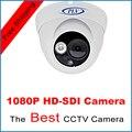HD SDI camera 1080P 1/2.7''Cmos Sensor SDI digital security camera Indoor outdoor SDI cam array led HD-SDI dome cctv camera