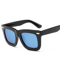 Fashion Sunglasses Men Polarized Sunglasses Men Driving Mirrors Coating Points Black Frame Eyewear Male Sun Glasses UV400