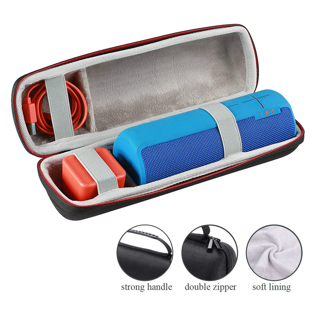Wireless Bluetooth Speaker Bag for Logitech UE BOOM UE BOOM 2 DKnight Big MagicBox Classic Zipper Cases Portable Protective Box