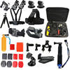 Tekcam Action Camera Mount Accessories Set For Gopro Fusion Hero 6 5 4 YI 4K YI