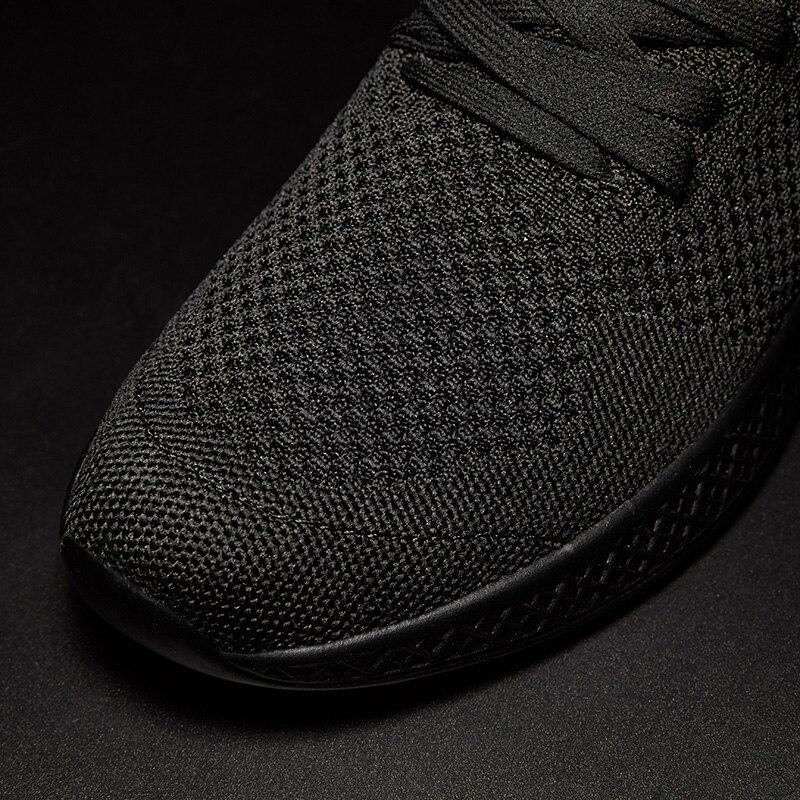 Men Fly Weave Casual Shoes Men Lightweight Sneakers Mesh Outdoor Walking Shoe Tenis Masculino Adulto 3