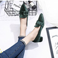 Spring Shoes Low Heel Sexy Elegance Pumps Pointed Toe Shallow Mouth Sexy Pumps 2017 New Style