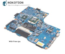 NOKOTION para la placa base del ordenador portátil Gateway ID59C 48.4EH02.01M MBWLJ01001 MB.WLJ01.001 HM55 DDR3 cpu gratis