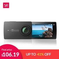 Экшн камера YI 4K | Матрица SONY IMX377 | Сенсорный экран диагональю 2,19 | широкоугольный объектив с углом зрения 155 градусов