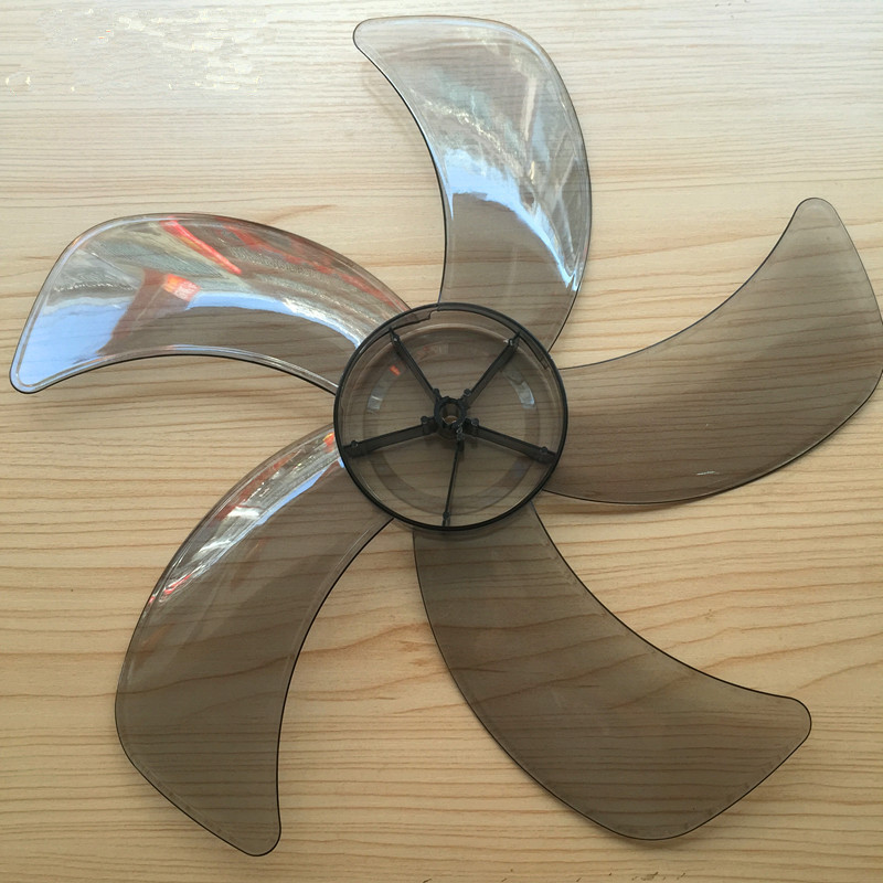 Big wind <font><b>16</b></font> inch 400mm plastic fan blade for Multi-brand <font><b>400</b></font> midea FS40 Series image