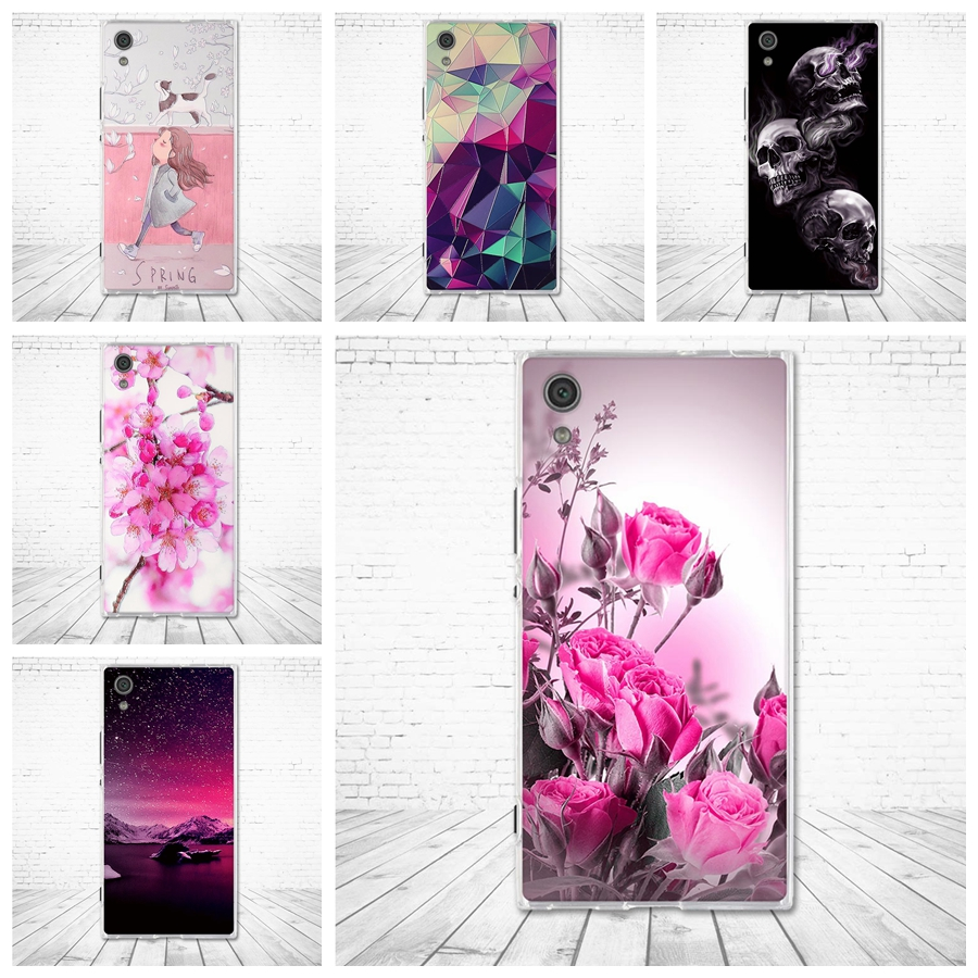 Case for <font><b>Sony</b></font> Xperia XA1 G3121 <font><b>G3112</b></font> G3125 G3116 G3123 Soft TPU Cover for <font><b>Sony</b></font> Xperia Z6 Silicone Shells for <font><b>Sony</b></font> Xperia XA1 Bag image