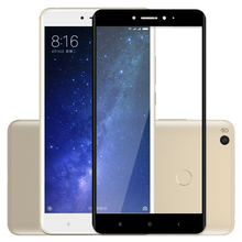 VOONGSON For Xiaomi Mi Max 2 Glass Screen Protector Full Film Tempered Glasses Max2 Display Protective Cover