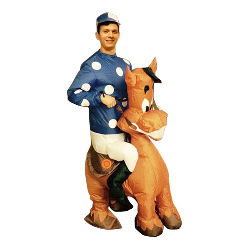 Adult Inflatable Jockey Costume Halloween Purim Christmas  sc 1 st  Meningrey & Inflatable Jockey Costume - Meningrey