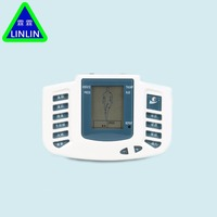Massager Electrical Stimulator Full Body Relax Muscle Therapy Massager Pulse Tens Acupuncture Health Care Slimming Machine12pads