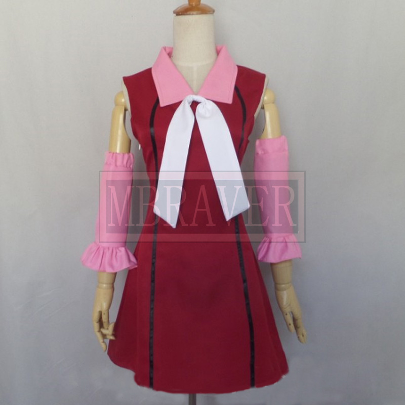 Fairy Tail Lisanna Strauss dress Cosplay Costume