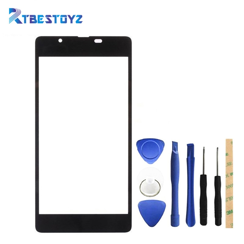RTBESTOYZ <font><b>Replacement</b></font> Front Touch <font><b>Screen</b></font> Glass Outer Lens For Nokia <font><b>Microsoft</b></font> <font><b>540</b></font> N540 <font><b>Lumia</b></font> <font><b>540</b></font> image