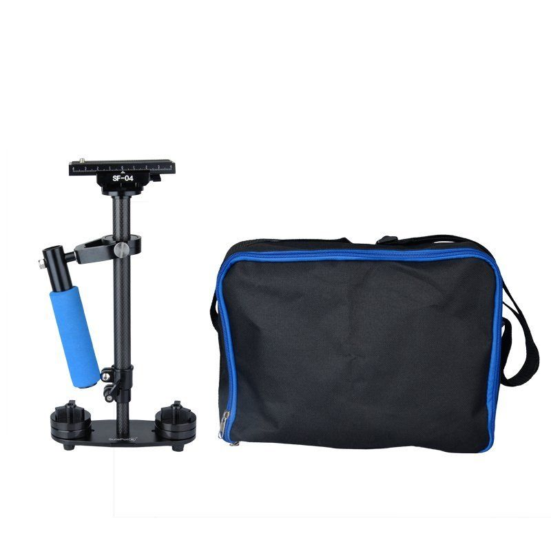 Carbon S40 0.4M Handheld Stabilizer Steadicam for Camcorder Camera Video DV DSLR s 60handheld mini handheld stabilizer for camcorder dv video camera dslr black blue